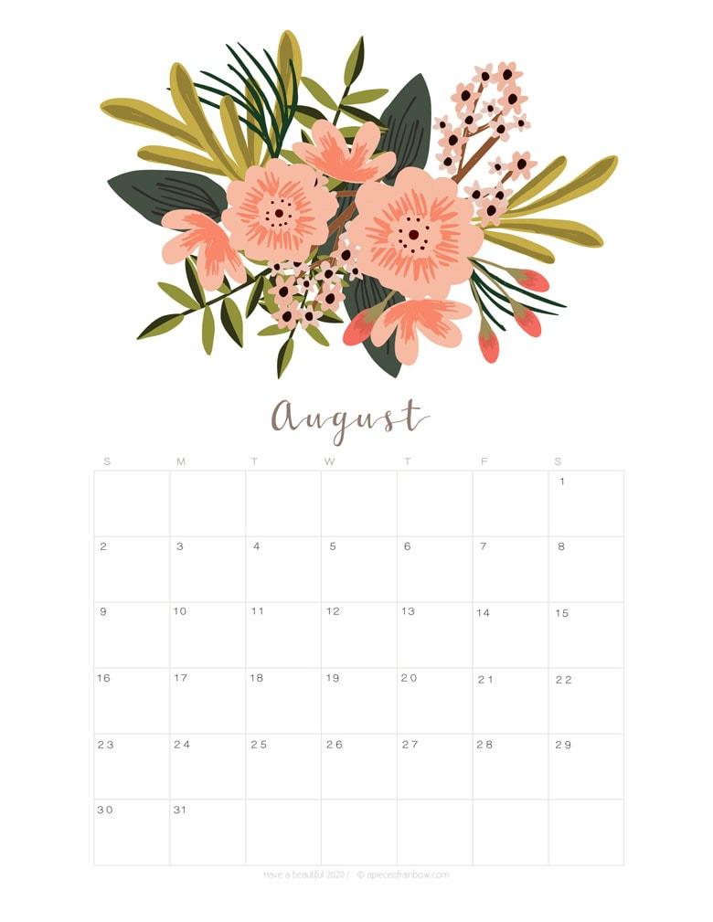 The Abundance Planner Modern Floral