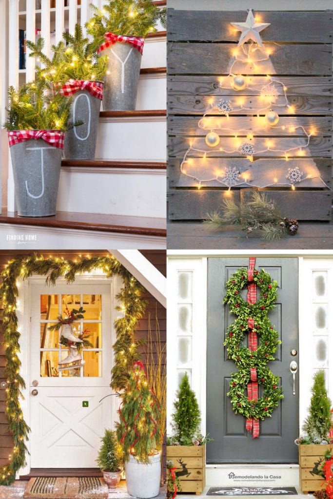 Image of: Gorgeous Outdoor Christmas Decorations 32 Best Ideas Tutorials A Piece Of Rainbow