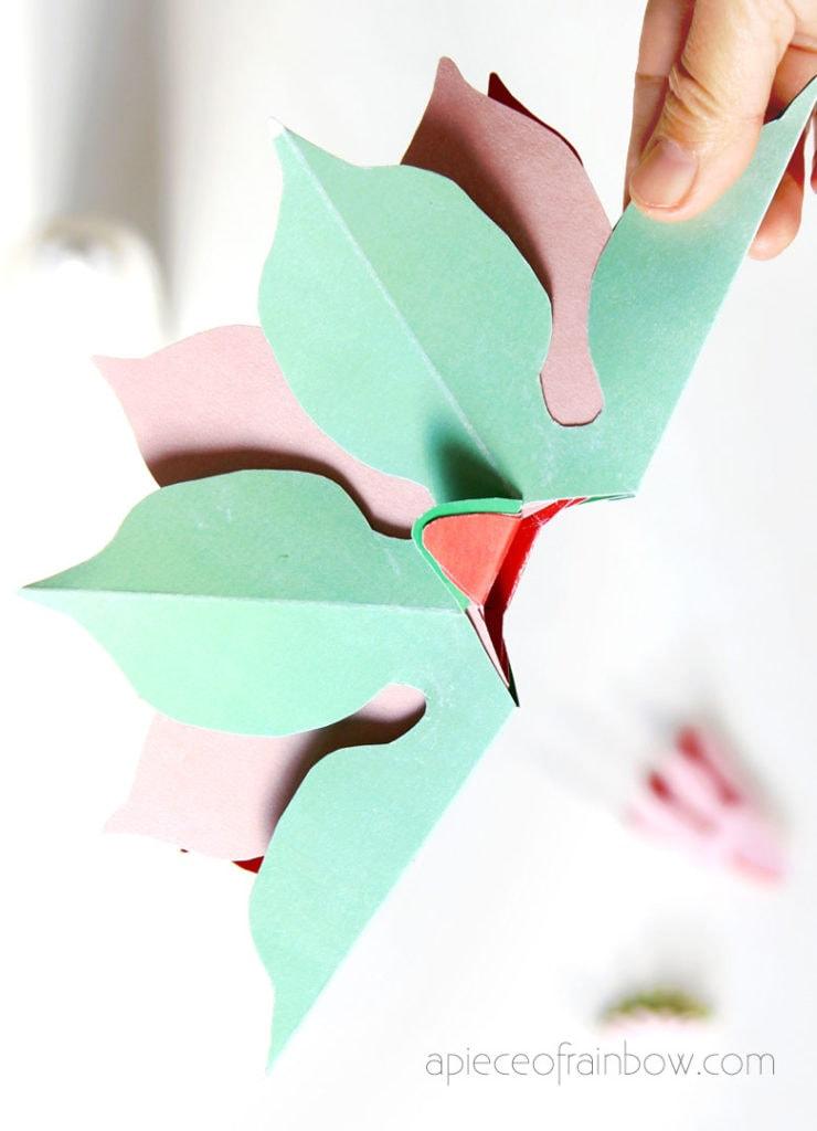 glue pop up flowers