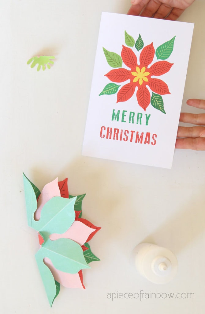 handmade Christmas card cover