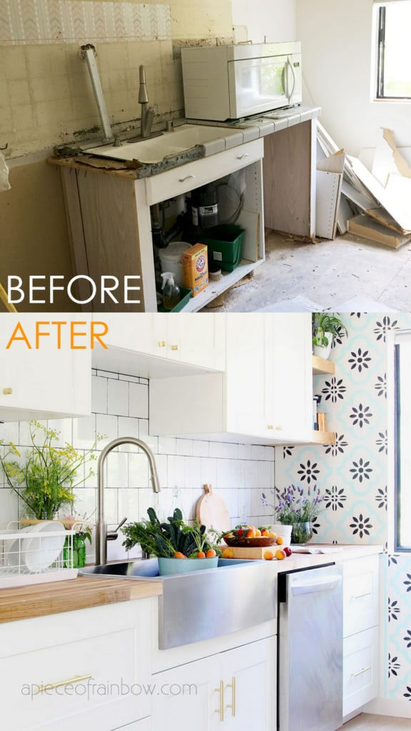 Ultimate guide on how to design & install your dream IKEA kitchen with Sektion cabinets. Best tips & resources from our DIY farmhouse kitchen remodel!