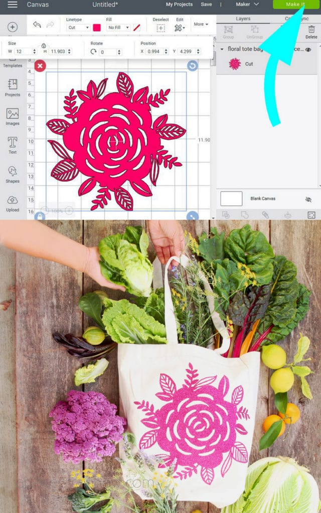 use SVG files with Cricut Maker and Cricut Explore