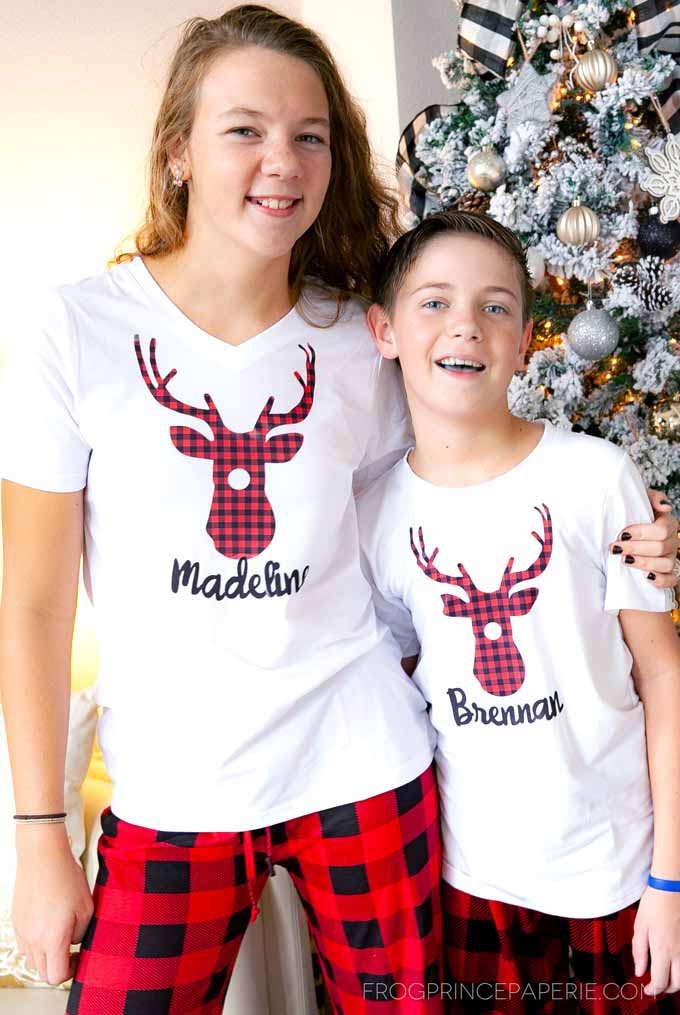 DIY matching Christmas pajamas