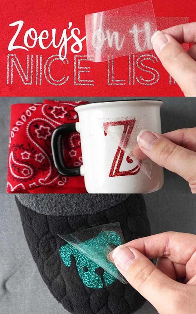 DIY Christmas eve box with personalized mug and slippers