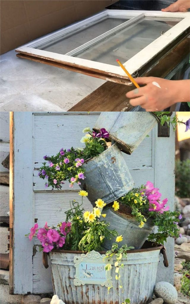 24 Diy Vintage Garden Decorations Ideas A Piece Of Rainbow