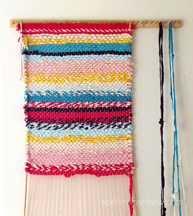 weaving a rag run