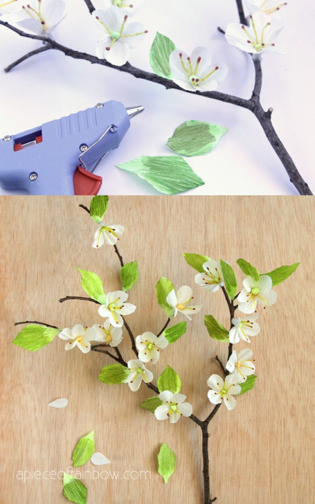 Make paper flowers : paper craft activities for kids and family