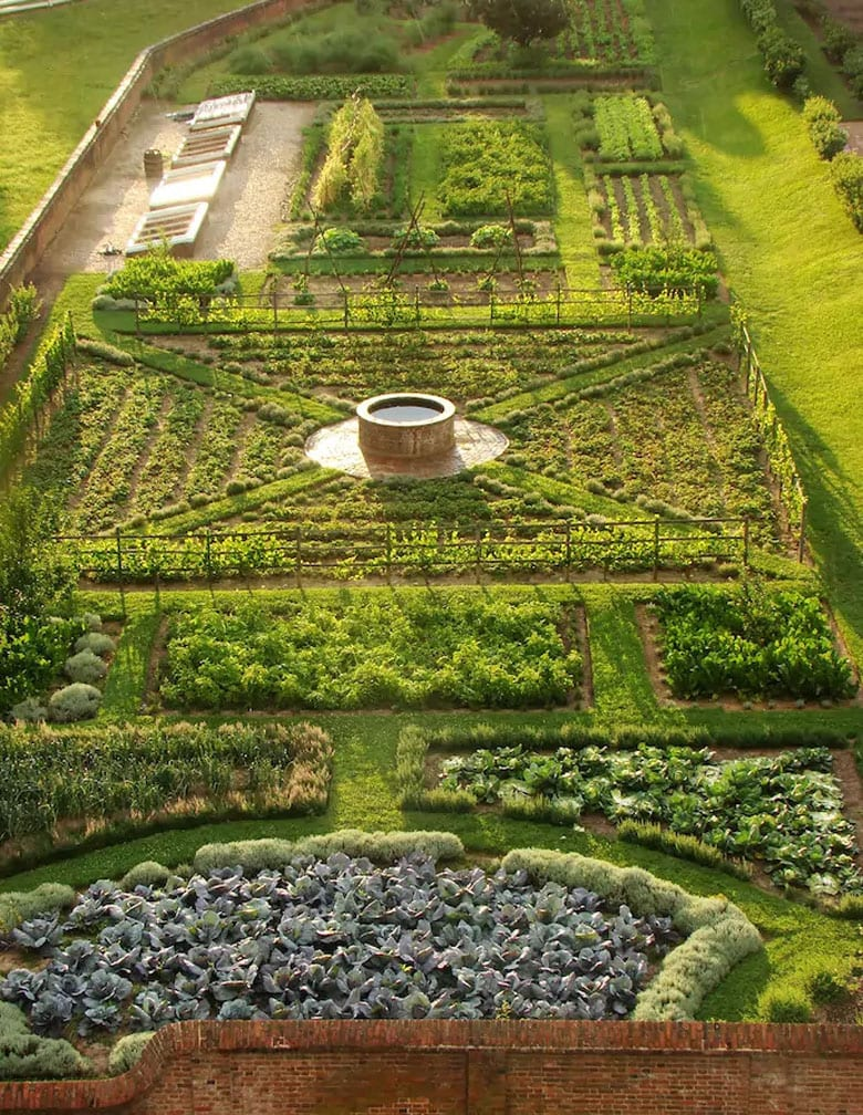 beautiful kitchen garden designs