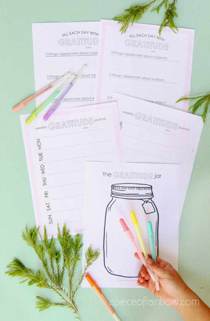 Free Printable Gratitude Journal Templates & Prompts
