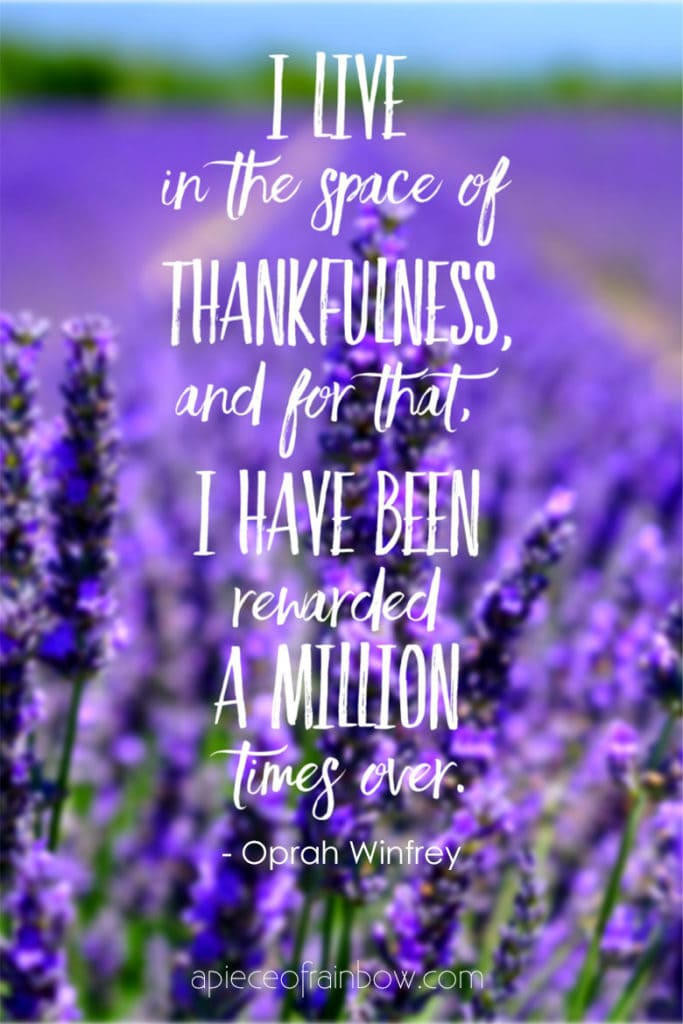 gratitude quotes by Oprah