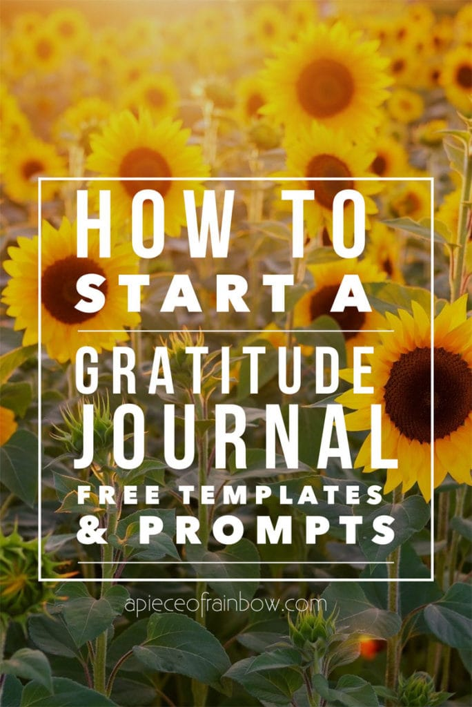 free printable gratitude journal prompts & template designs