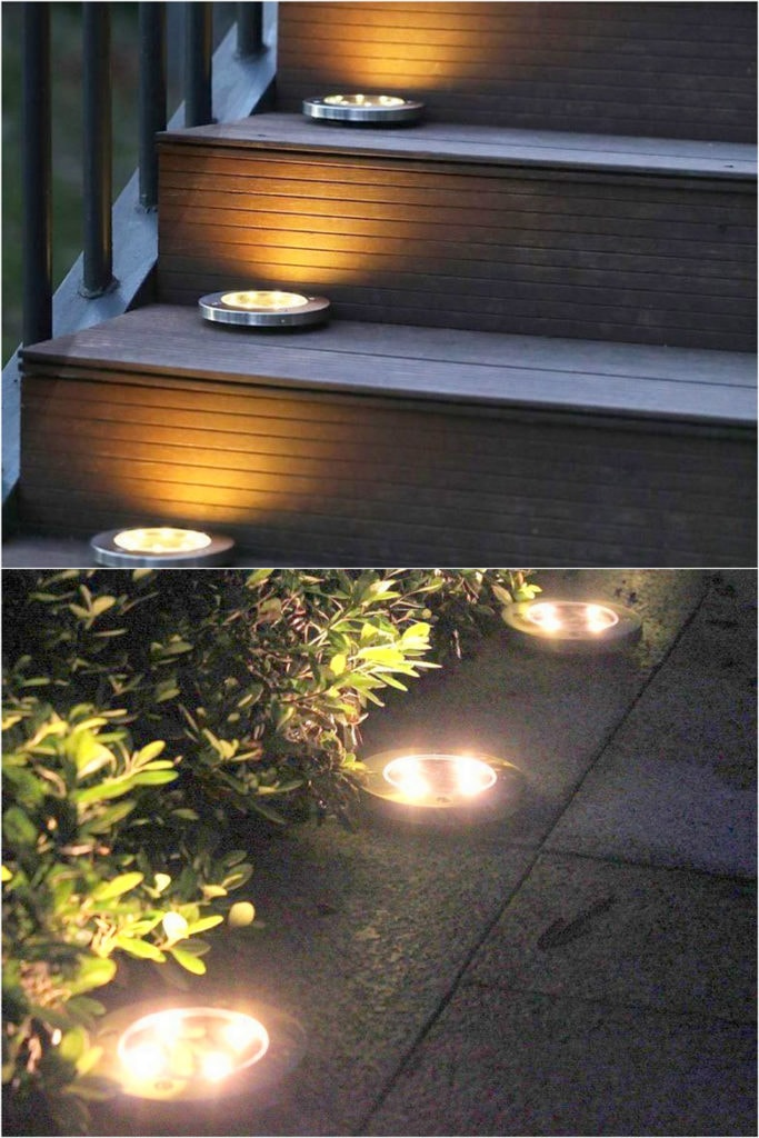 In ground outdoor lighting