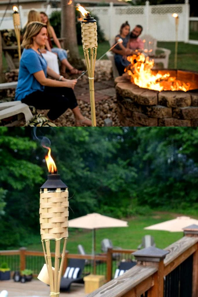 Tiki torch outdoor lighting ideas