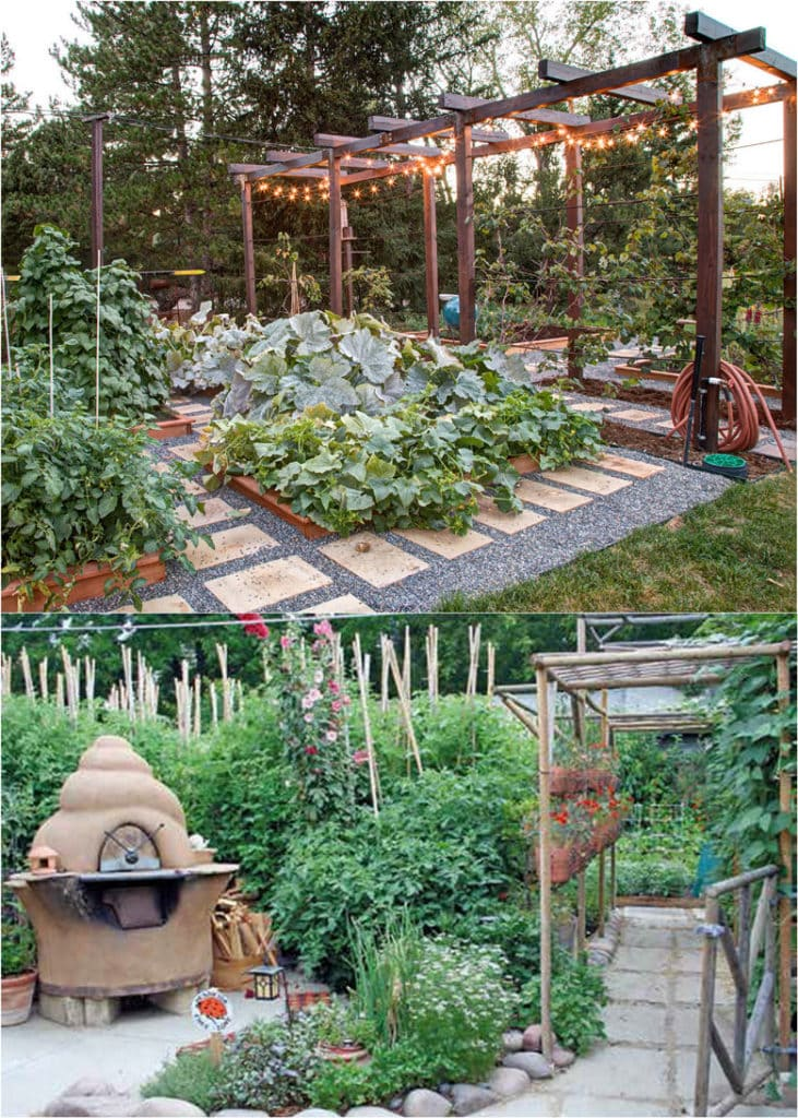 vegetable garden planning and layout design ideas