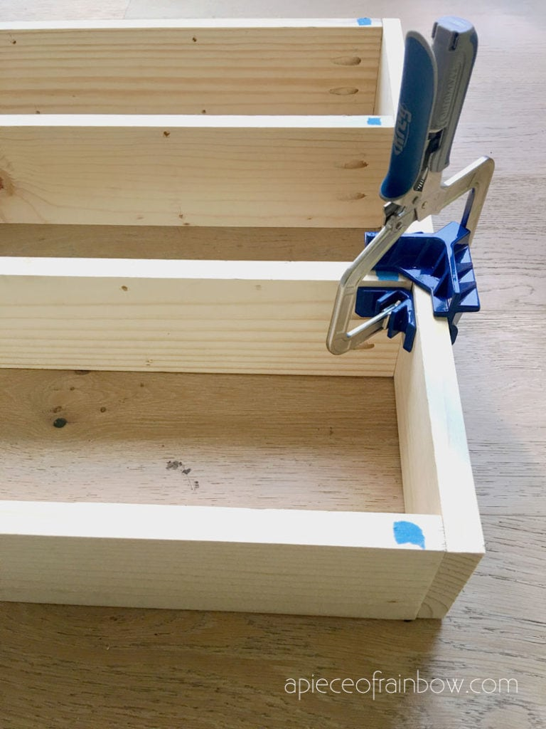 Kreg 90° corner clamp for T joints