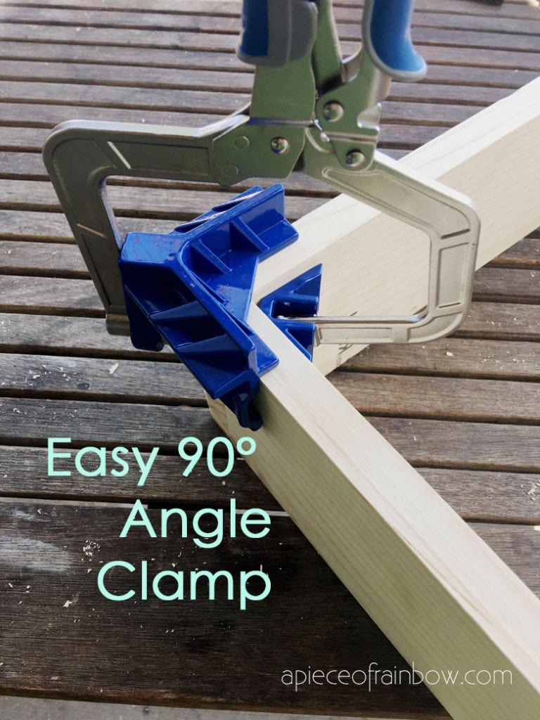 "Kreg 90° corner clamp jig, great for 90° corners and ""T"" joints"