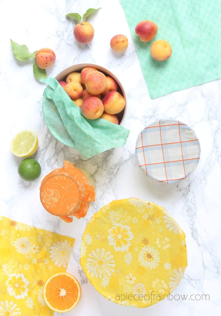 eco friendly zero waste handmade beeswax wrap are beautiful gifts