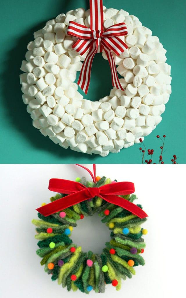 How To Make A Wreath 25 Best Ideas Tutorials A Piece Of Rainbow