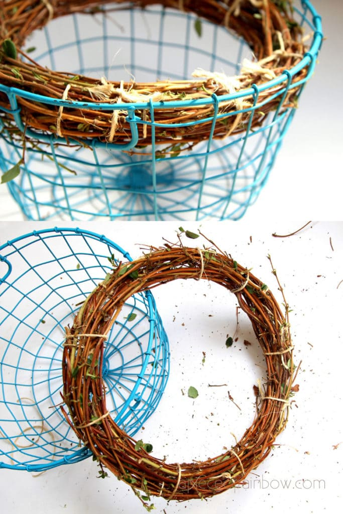 How to make grapevine wreaths