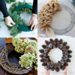 Ultimate guide on how to make a wreath: best ideas for spring to fall & Christmas decorations. Easy step by step tutorials & creative DIY hacks!