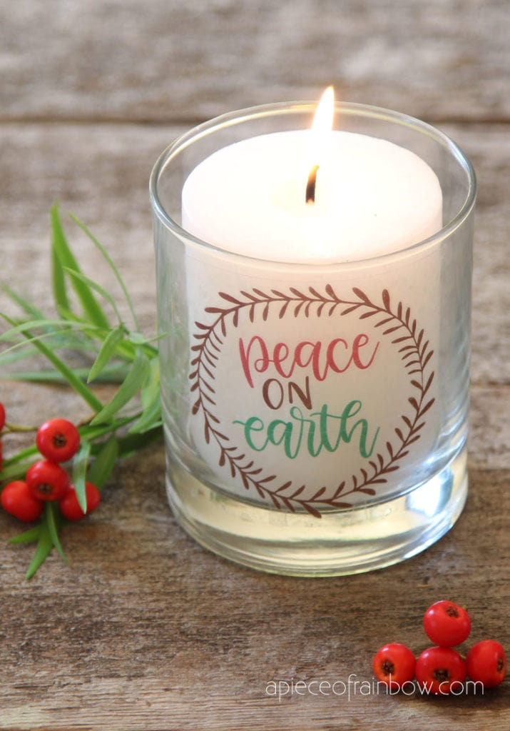Christmas decorations and crafts DIY  candle holders
