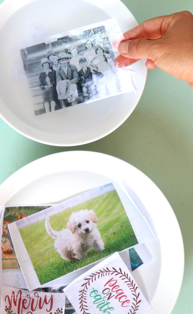 transfer images to packing tape & make clear stickers