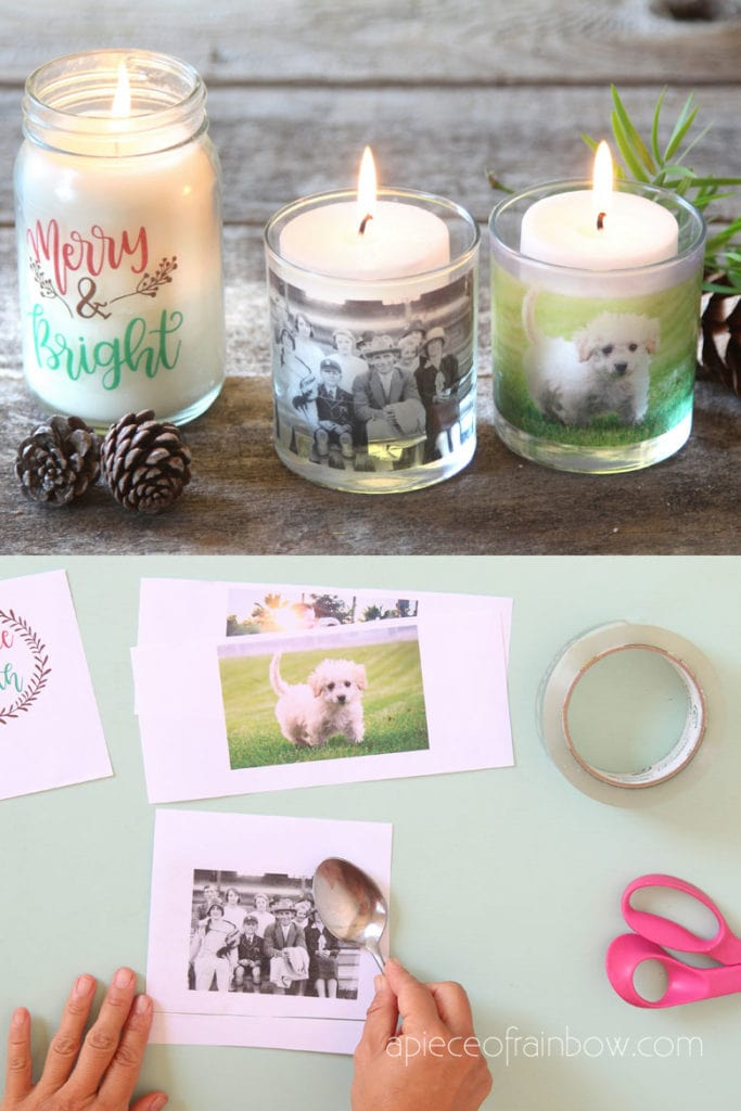 make personalized gifts glass candle holders