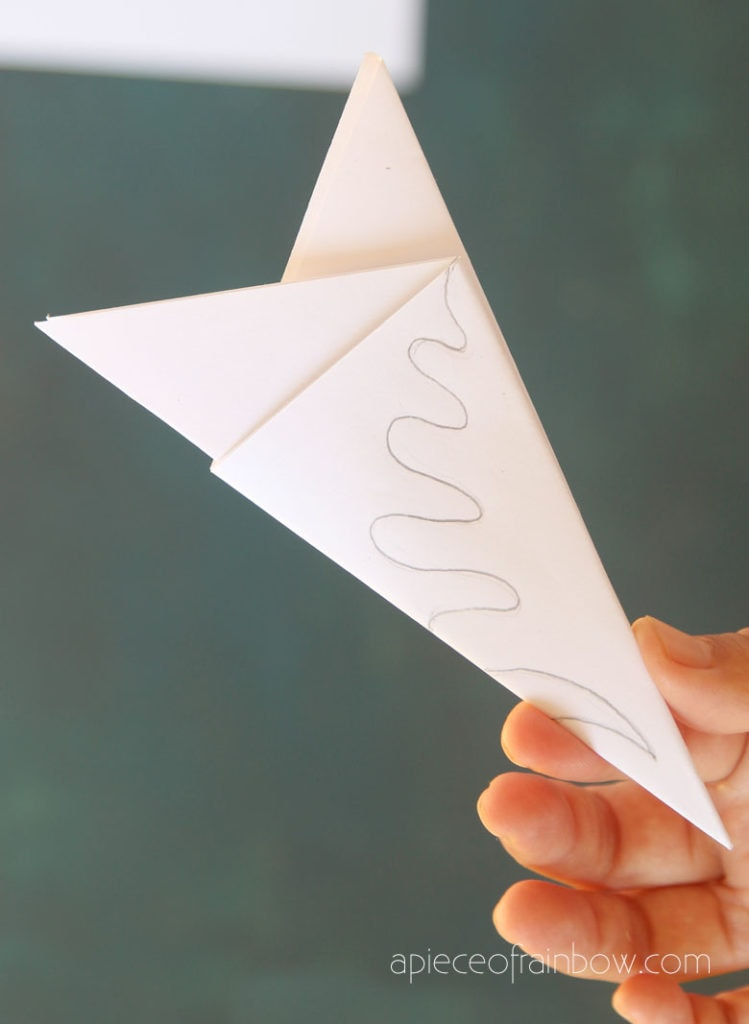 fold and cut elegant paper snowflakes
