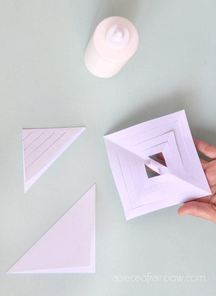 glue cut paper