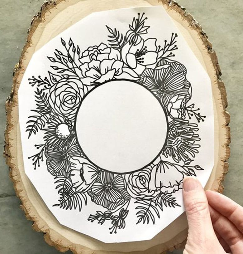 Wood burning art DIY Mother's Day gifts