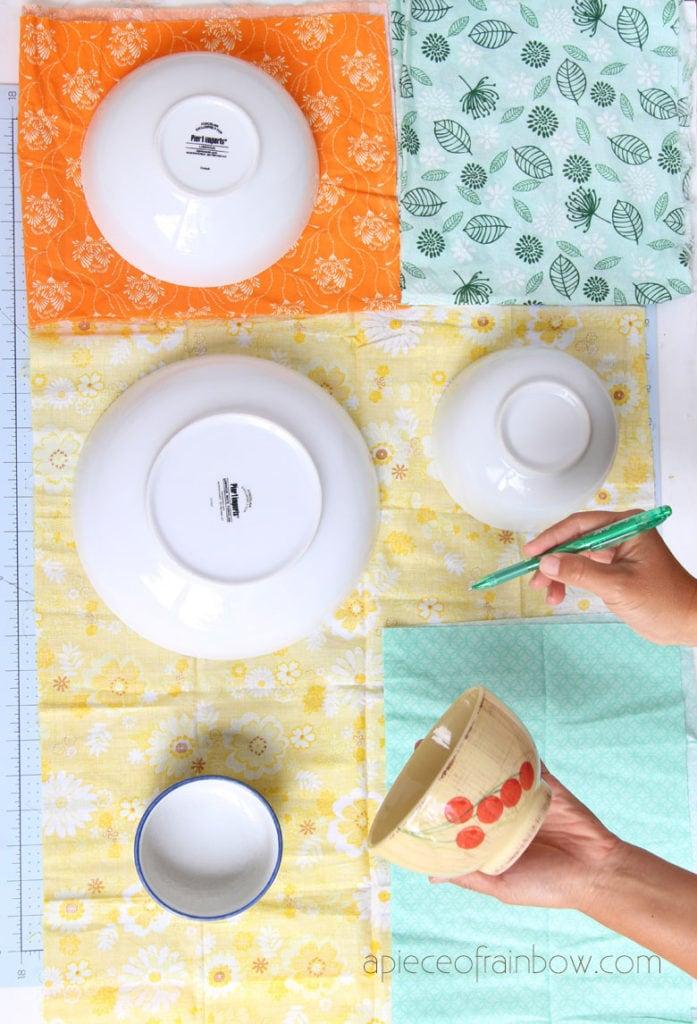 Enveloppes de cire d'abeille naturelle bricolage pour la cuisine de maman