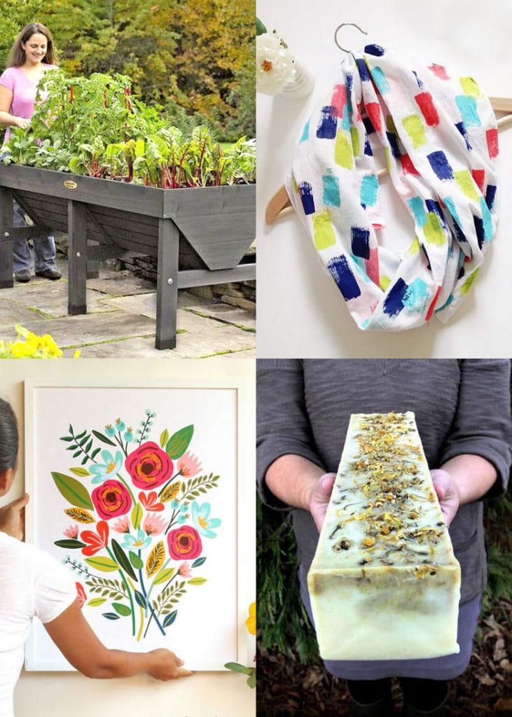 25 meilleurs cadeaux de fête des mères à faire soi-même et pour l'anniversaire de maman aussi!  Belle décoration de jardin à la maison utile, artisanat facile, plus des idées cadeaux gratuites que les enfants peuvent faire!