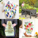 25 best DIY Mother's Day gifts & for mom's birthday too! Beautiful useful home garden decor, easy crafts, plus free gift ideas kids can make!