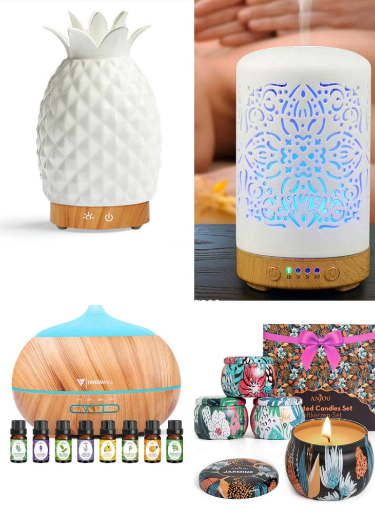Mother's Day gift ideas are for moms who love healthy living, organic style, aromatherapy, and wellness products like candles, essential oil, etc.