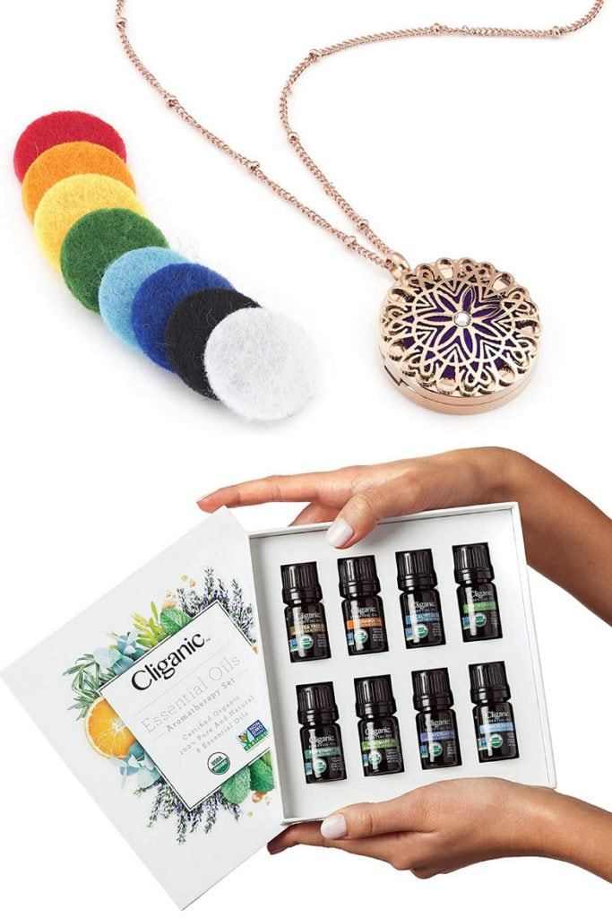 essential oils diffuser necklace , jewelry gifts for mom