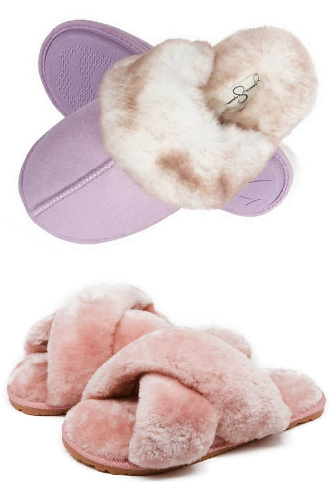 cozy slippers gifts for mom