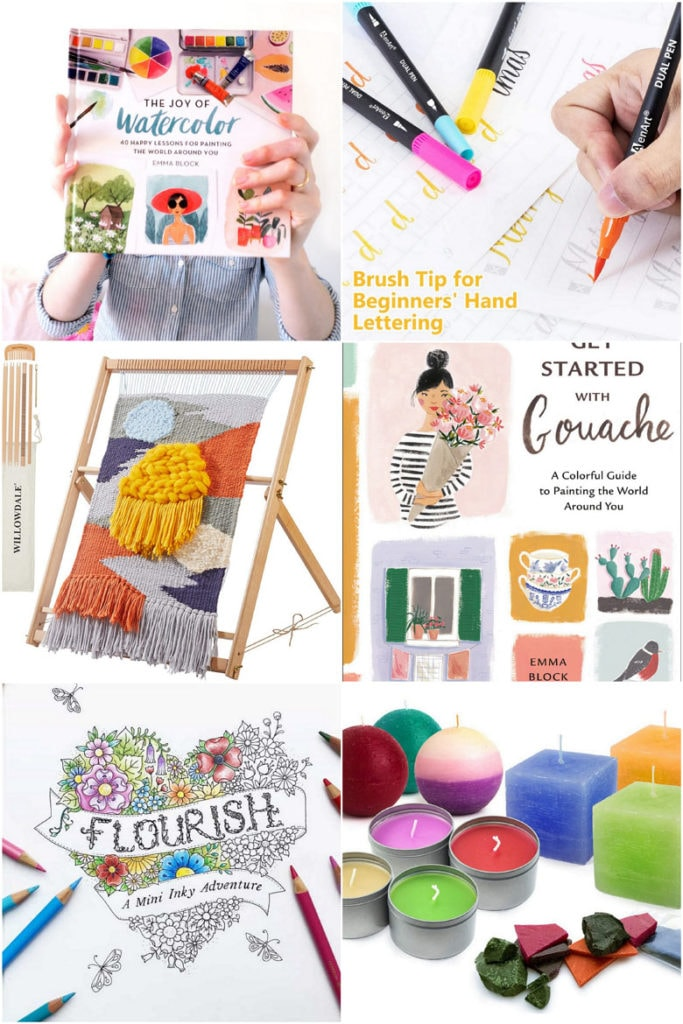 Mother's day or birthday Gift ideas for creative and crafty moms