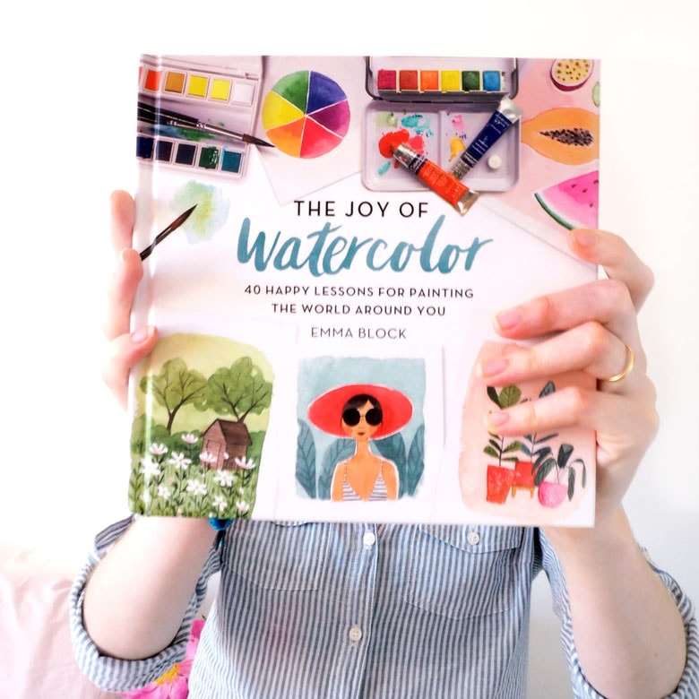Mother's Day gifts & ideas: Beautiful watercolor books mom will love!