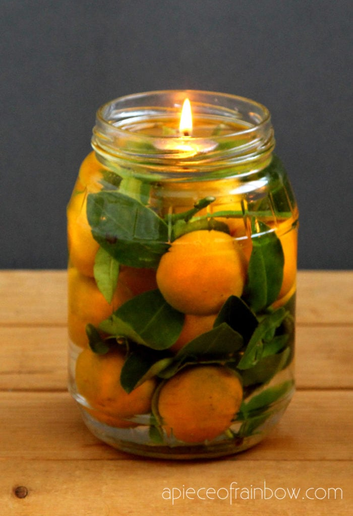 Easy and beautiful mason jar oil lamp in 2 minutes using long lasting oil candle wicks, vegetable oil & water! Perfect DIY lighting & table decorations!